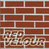 red velour brick color