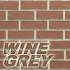 wine grey brick color