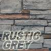 rustic grey stone color