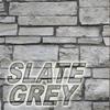 slate grey stone color