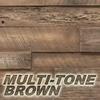 multi tone brown wood color