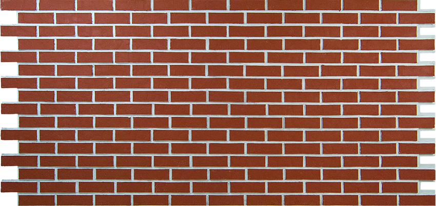 clean brick pattern